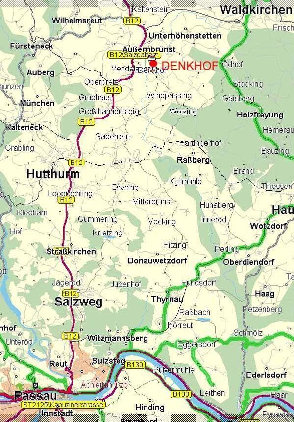 BAUGRUNDSTÜCK vollerschlossen in 94124 BÜCHLBERG