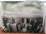 Skyline von New York auf