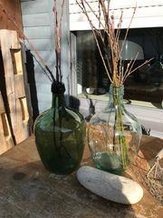 2 Dekogläser Vasen