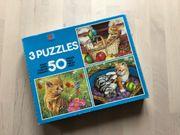 Puzzel 50 Teile Katzenmotiv MB