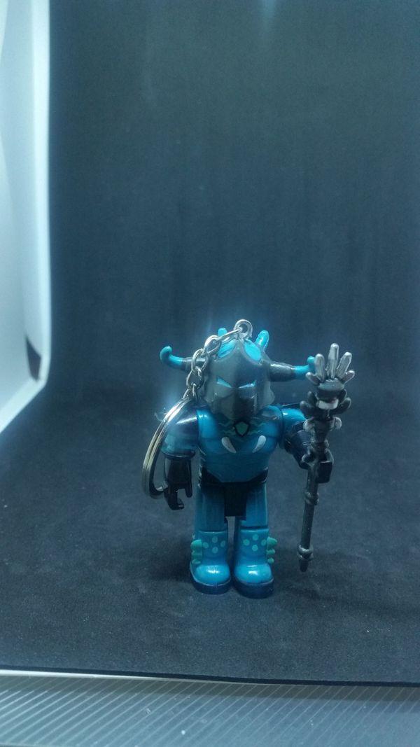 Schlüsselanhänger Roboter dkl Türkis