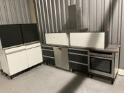 Alno Küchenzeile Einbauküche Ohne Elektrogeräte
