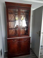 englisches Stilmöbel Bookcase Vitrine Rosjohn