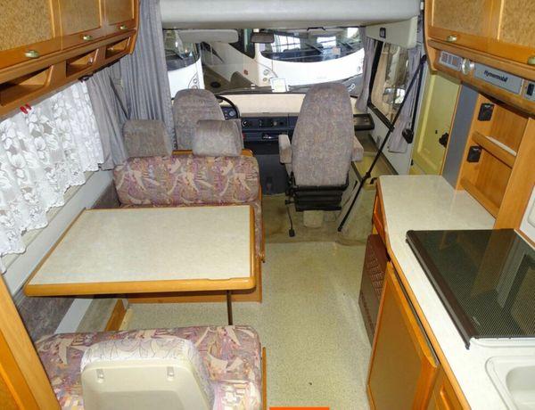 Hymermobil S670 6 Sitz- u