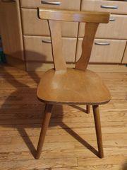 2 Holzstühle