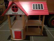 Puppenhaus beeboo mit Möbeln und