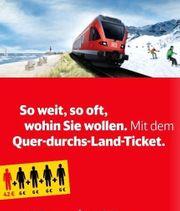 DB Deutsche Bahn Quer-Durchs-Land-Ticket