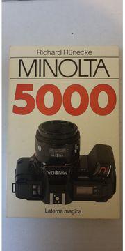 Minolta 5000 Buch - Richard Hünecke