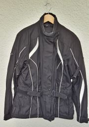 Polo Motorradjakce Damen Textil schwarz