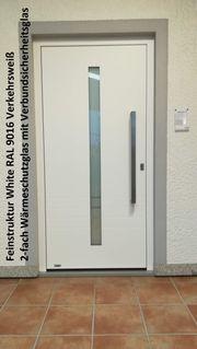 Aluminium-Haustür Ausstellungsstück Nr 8