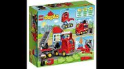 Lego DUPLO Feuerwehr Löschfahrzeug