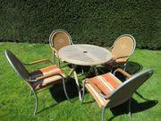 Gartenmöbel Teakholz Polyrattan