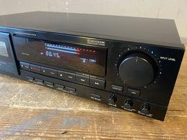 Tape-Deck, Walkman - Denon DRM-710 Tapedeck Kassettendeck Cassette