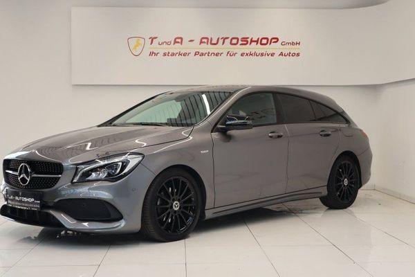 Mercedes-Benz CLA 200 CDI Shooting
