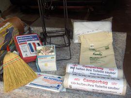 Bild 4 - Camping Campingzubehör Moskitonetz Hängeregal Müllständer - Worms