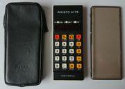 Aristo M75 Taschenrechner - 70er Jahre