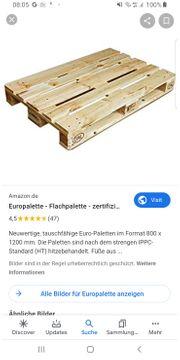 Europalette paletten zu verschenken