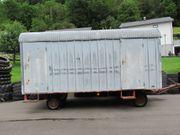 Bauwagen mit 2 Achsen neu