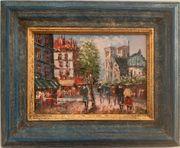 Pariser Stadtansicht von Burnett Ölgemälde