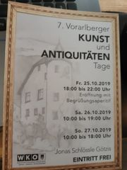 7 Vorarlberger Kunst und Antiquitäten