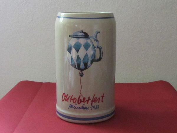 Offizieller Oktoberfestkrug 1980 Sammelkrug 1