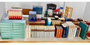 Bücherflohmarkt in Garage