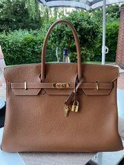 Hermes Birkin Bag 40er cognac