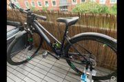 tolles Cube Crossbike black n