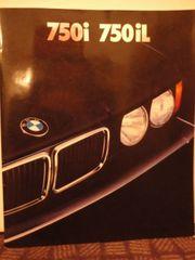 BMW 750i iL Prospekt 1987