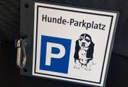 Hundeparkplatz Schild Neuware