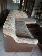 Sofá plus Sessel zu verschenken