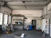 Kfz Werkstatt Halle Parkplatz Büro