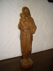Antike Geschnitzte Madonna