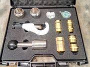 Schlagwerkzeug im Set für Edelstahlwellrohr