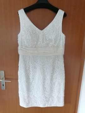 Festliche Abendbekleidung, Damen und Herren - Brautkleid Etuikleid
