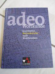 adeo Wortkunde ISBN 9783766152732 neuwertig