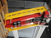 Siku--MAN Zugwagen mit Car-Trans -International