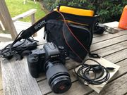 Sony Alpha 200 Digitale Spiegelreflexkamera