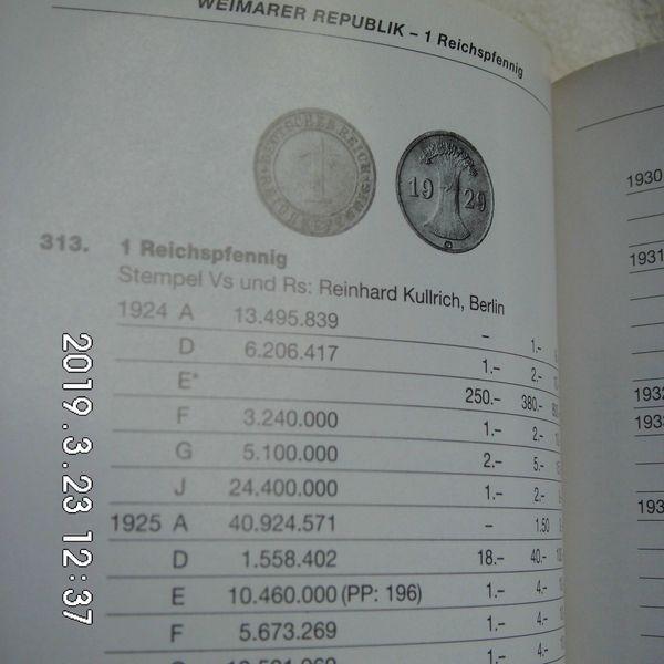 1 Reichspfennig 1924-1936