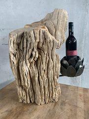 Versteinertes Holz für Wein Bier