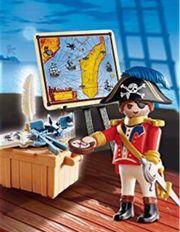 Playmobil Piratenkapitän mit Zubehörteile