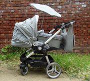 Teutonia BeYou Kombi-Kinderwagen in sehr