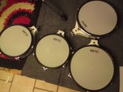 4 Roland Pads in weiss