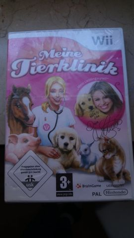 Nintendo Wii / mein TierKlinik Spiel