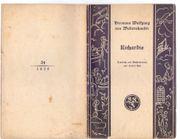Richardis Oper - H W von