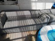 2 couch von Ikea grau