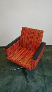 Sessel Drehstuhl 70er Jahre ORIGINAL