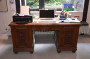 Schreibtisch Eiche antik ca 1920