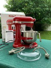 KitchenAid 5KSM7591XEER Küchenmaschine - rot - 6