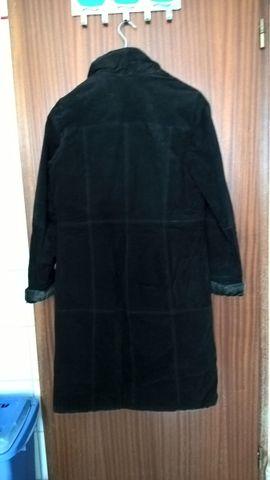 Leder-/Pelzbekleidung, Damen und Herren - Langer Mantel Gr 38